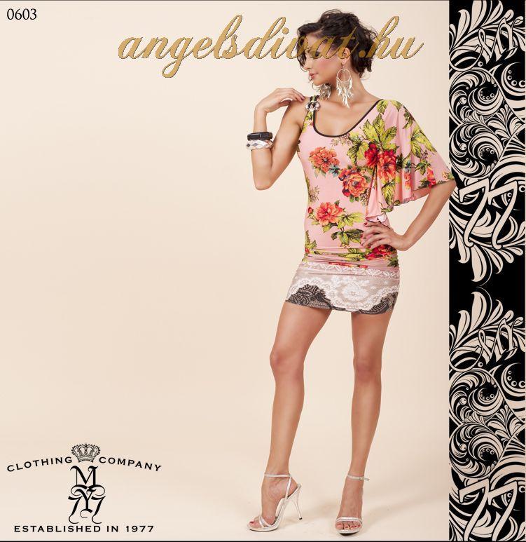 2006864457 MY77 1 UJJÚ RÓZSA RUHA MY77 - ANGELS DIVAT NŐI RUHA WEBÁRUHÁZ WEBSHOP