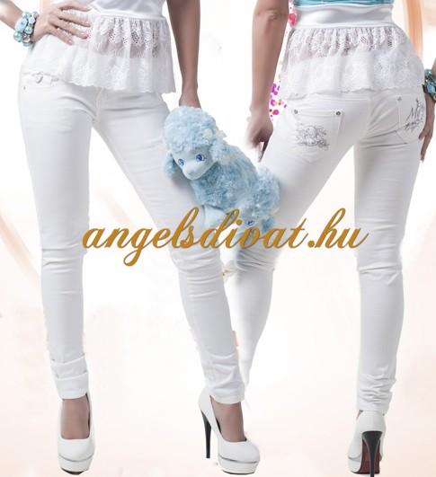 8861a93460 MY FEHÉR FARMER - ANGELS DIVAT NŐI RUHA WEBÁRUHÁZ WEBSHOP