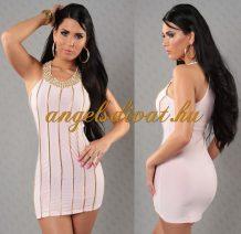 női miniruha rózsaszín